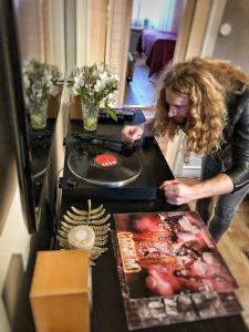 Frankie Rich invites you into his home to talk vinyls, playlists of what is spinning at the moment and what that bands inspired him as a kid.